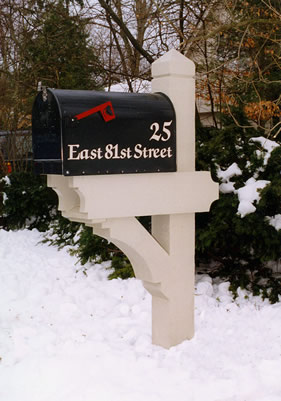How To Build A Mailbox Post 6x6